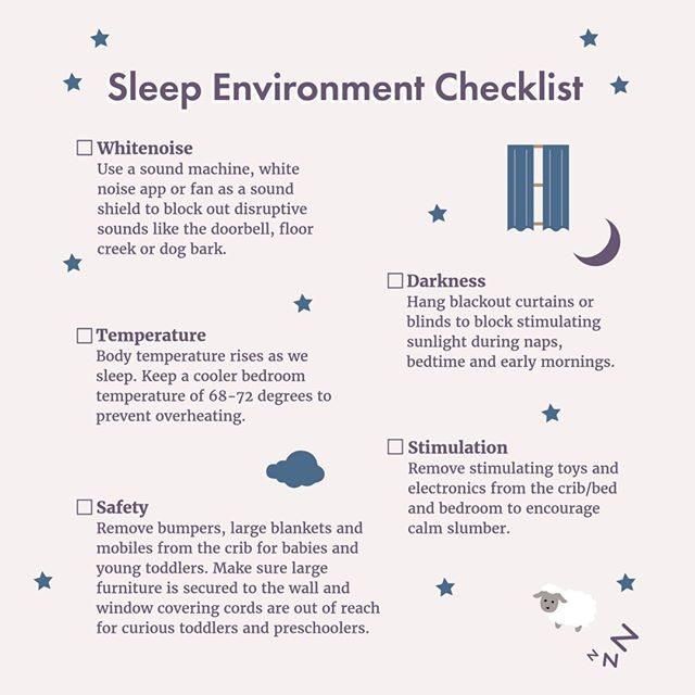 A white noise machine, swaddle, and dark room helps to create an environment that's most conducive to sleep. ⠀⠀⠀⠀⠀⠀⠀⠀⠀ ⠀⠀⠀⠀⠀⠀⠀⠀⠀ In those early weeks, it's important to watch for sleepy cues to determine when the baby's ready to sleep again. Generally, a baby aged 0-6 weeks can only be up for 45-60 minutes before becoming overtired. ⠀⠀⠀⠀⠀⠀⠀⠀⠀ ⠀⠀⠀⠀⠀⠀⠀⠀⠀ ⠀⠀⠀⠀⠀⠀⠀⠀⠀ ⠀⠀⠀⠀⠀⠀⠀⠀⠀ #sleepingbaby #newmom #infantsleep #infant #momistired #needmoresleep #sleepdeprivation #naps #babysleep #soundmachine #getmorerest #babyguides #sleepconsultants #momsneedmoms #momssupportingmoms #gettingenoughrest