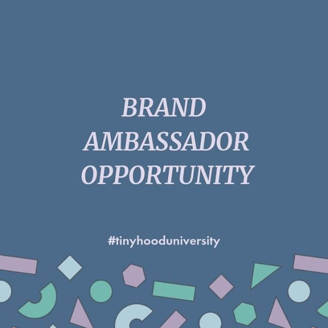 We are looking for Brand Ambassadors to help represent and grow Tinyhood! We are weeks away from launching a first of it's kind series of parenting classes, and would love help getting the word out to fellow Mamas, expecting Mamas & parents. If you are interested please DM us, or comment below. #tinyhooduniversity #brandambassodor