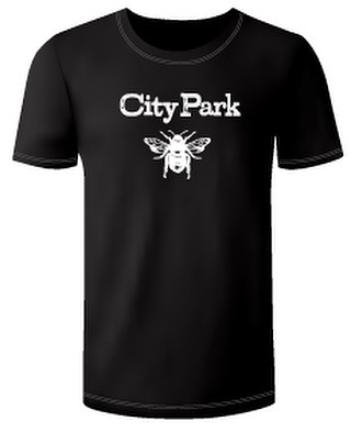 You've waited so patiently... City Park s'got merch! Shirts and stickers and what-have-yous. Come to the show on Friday at @cedarridgeiowa for a no-cover, 3 hr show and get you some! C'mon, it'll be fun! See you there!