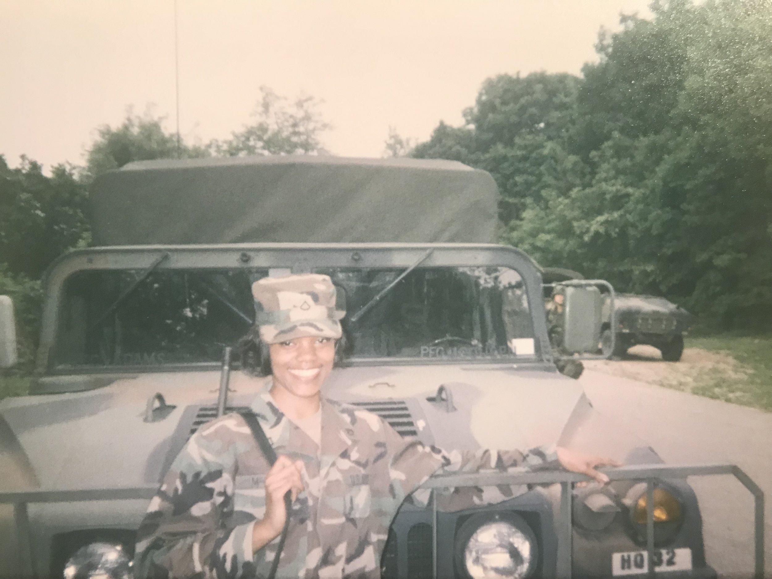 Sherrell, Yongsan Garrison, South Korea, 1999
