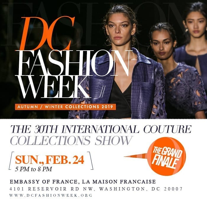 Dc Fashion Week Autumn Winter 2019 Dc Average Socialite