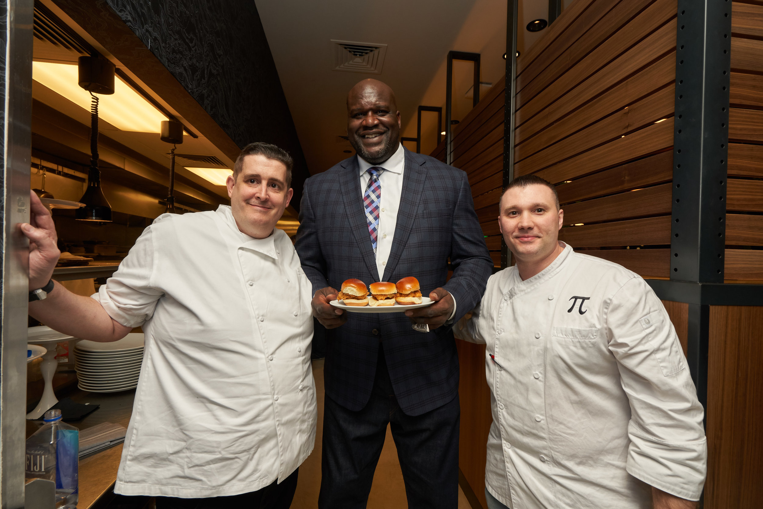 Chef Matthew Silverman and Shaquille O'Neal
