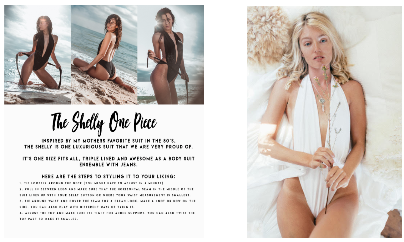 The Shelly One Piece by Jypsea Local