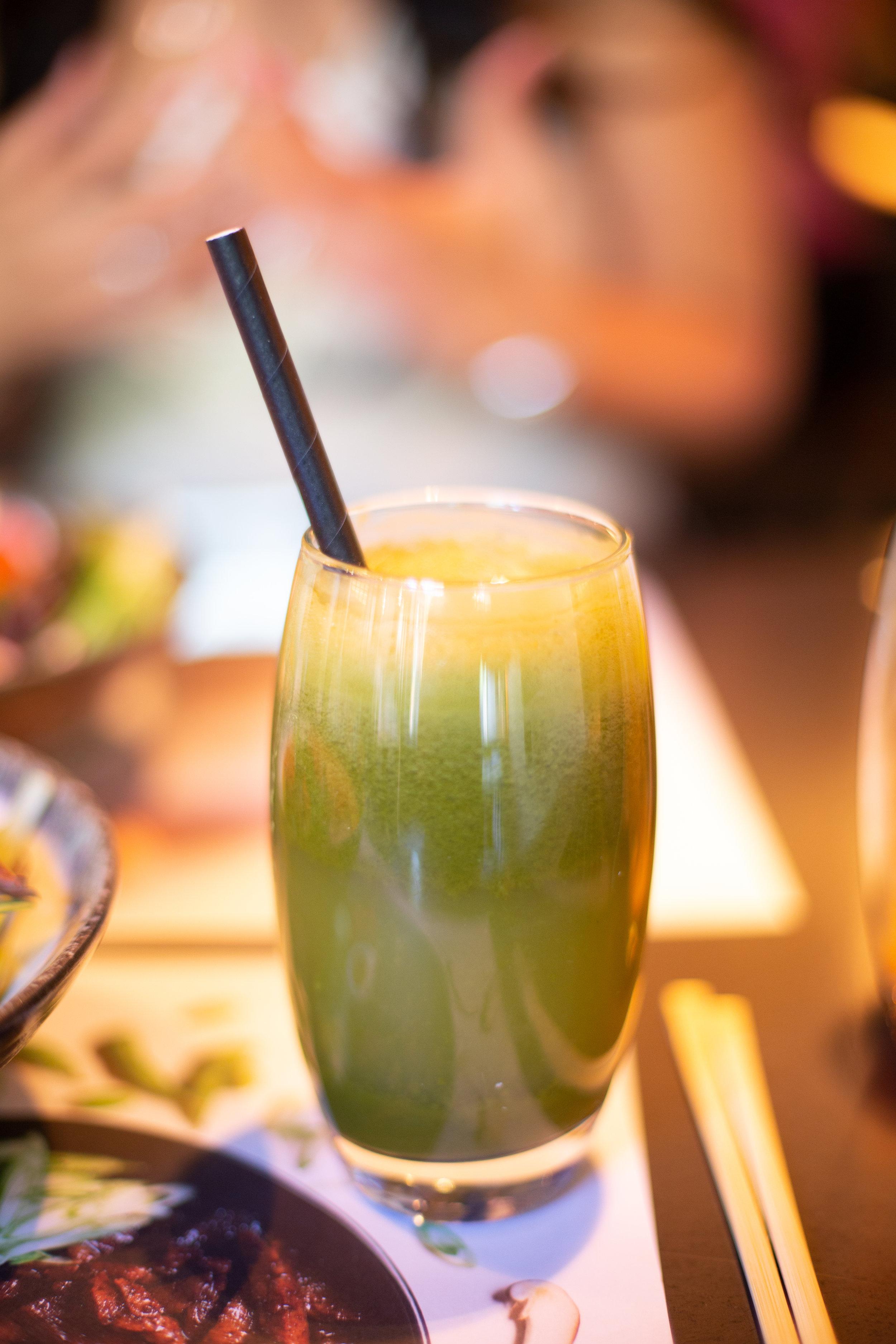 wagamama zen juice