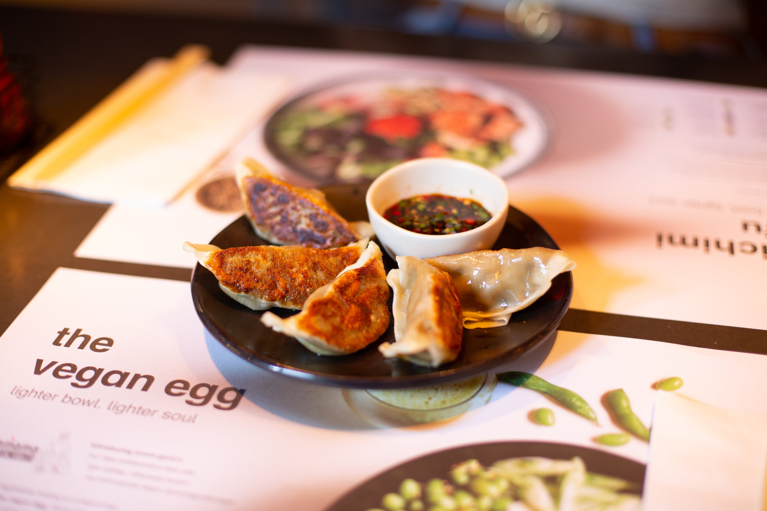 wagamama yasai gyoza dumplings