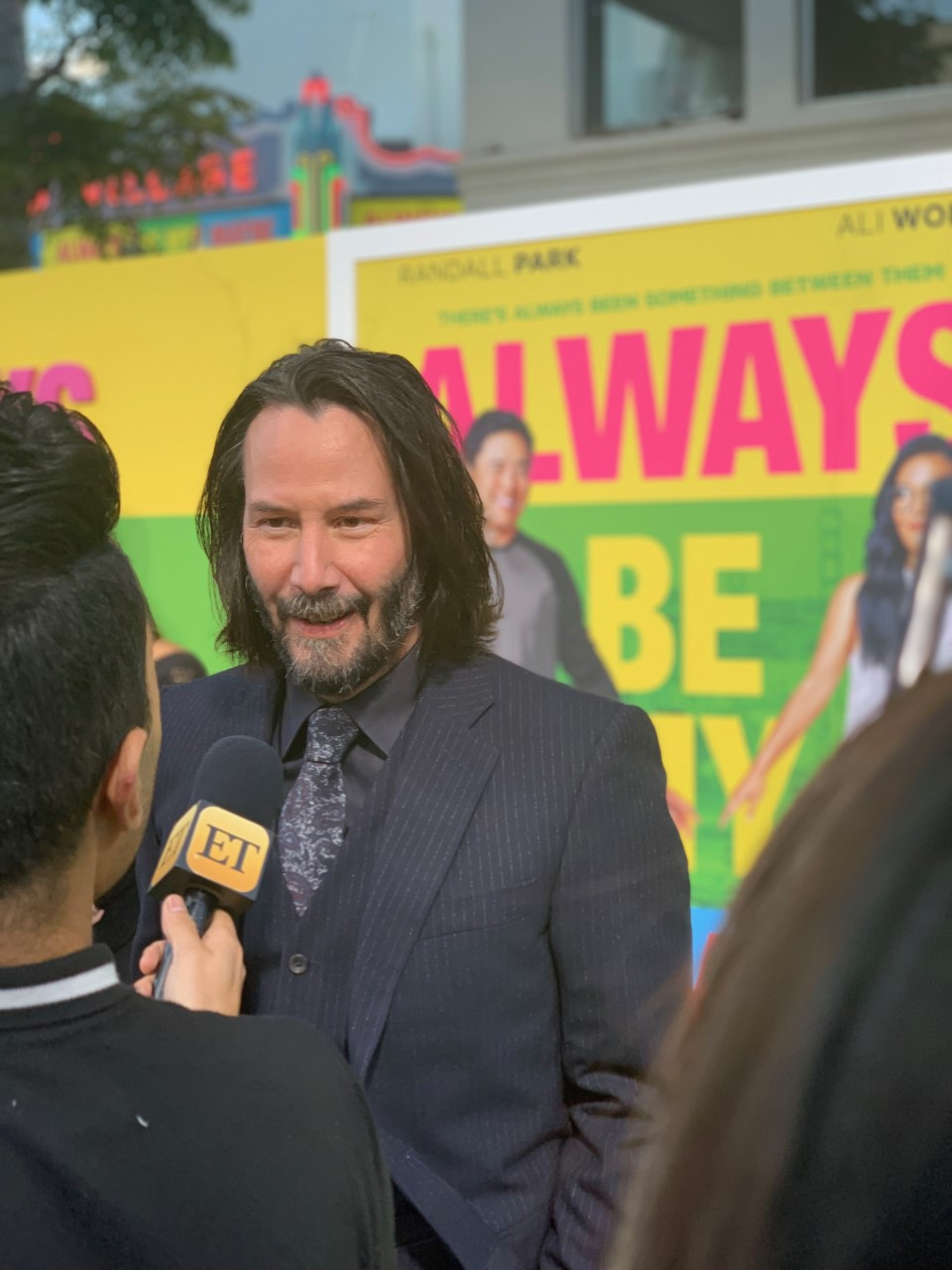 Keanu Reeves at the Always Be My Maybe Premiere on May 22, 2019 in LA |  Photo: Average Socialite