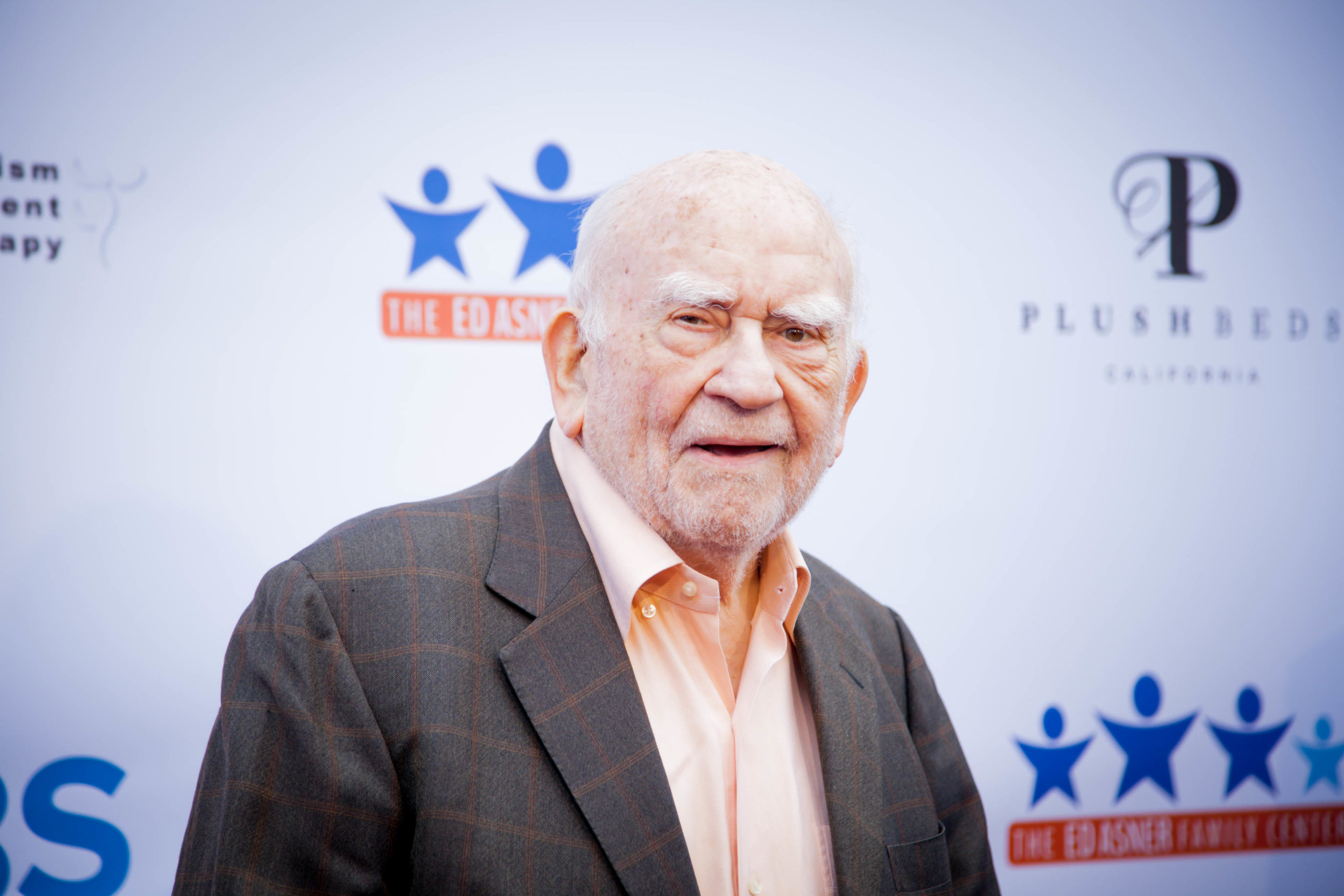 Ed Asner. Photo by Erin Poole for Average Socialite.