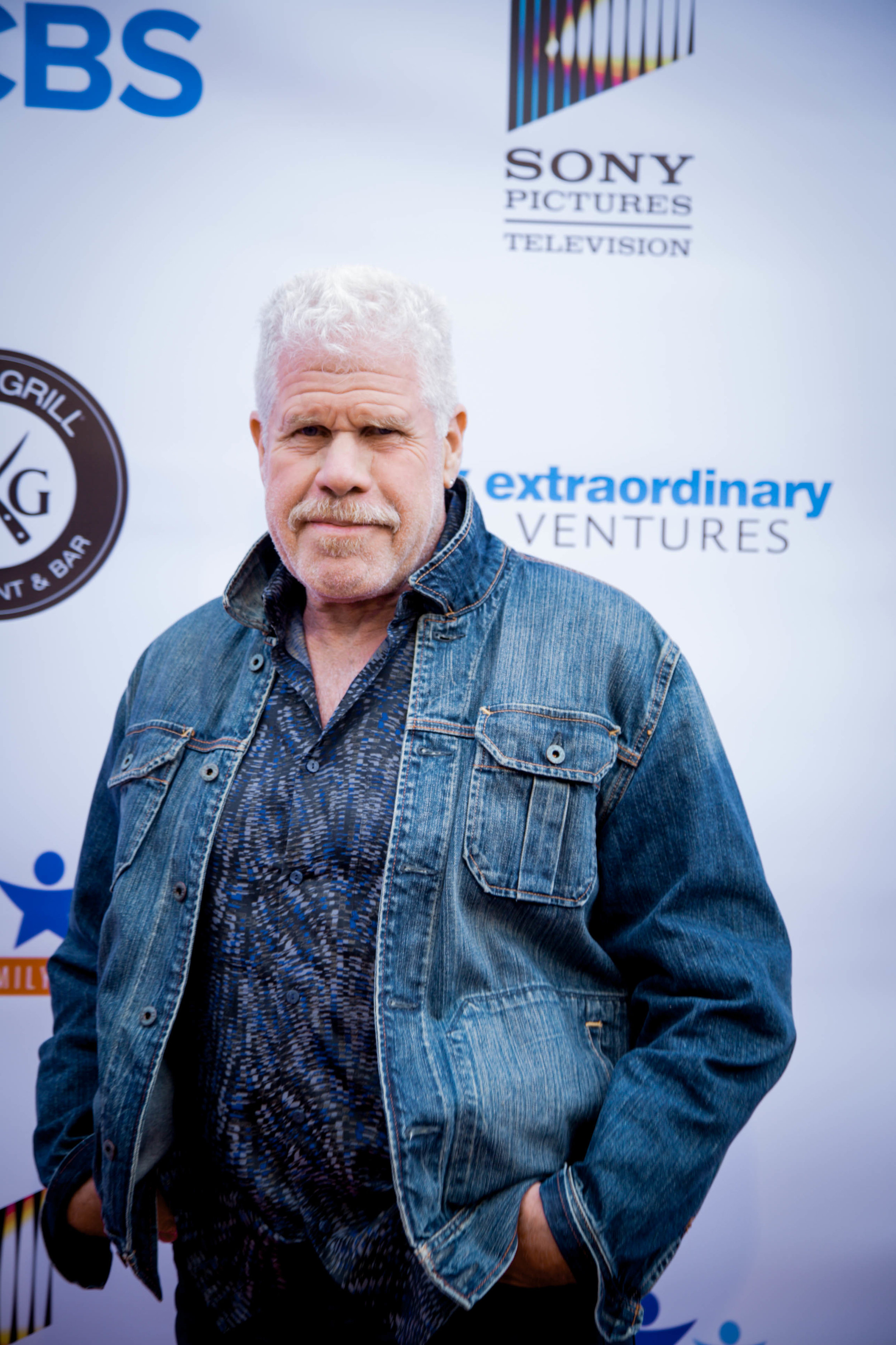 Ron Perlman. Photo by Erin Poole for Average Socialite.