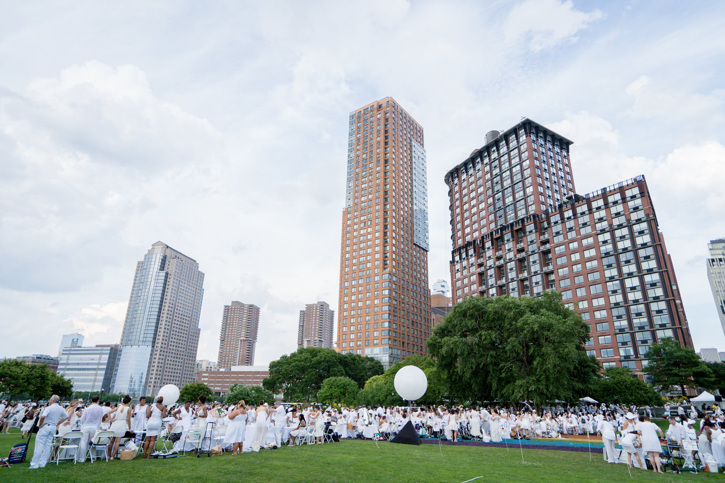 Dîner en Blanc NYC 2019 |  Photo: Eric Vitale Photography for Dîner en Blanc International