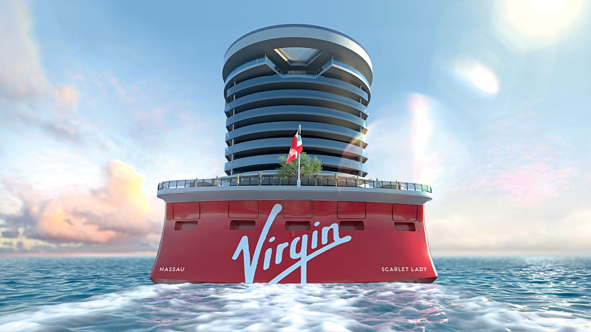 Scarlet Lady Aft |  Photo: Courtesy of Virgin Voyages