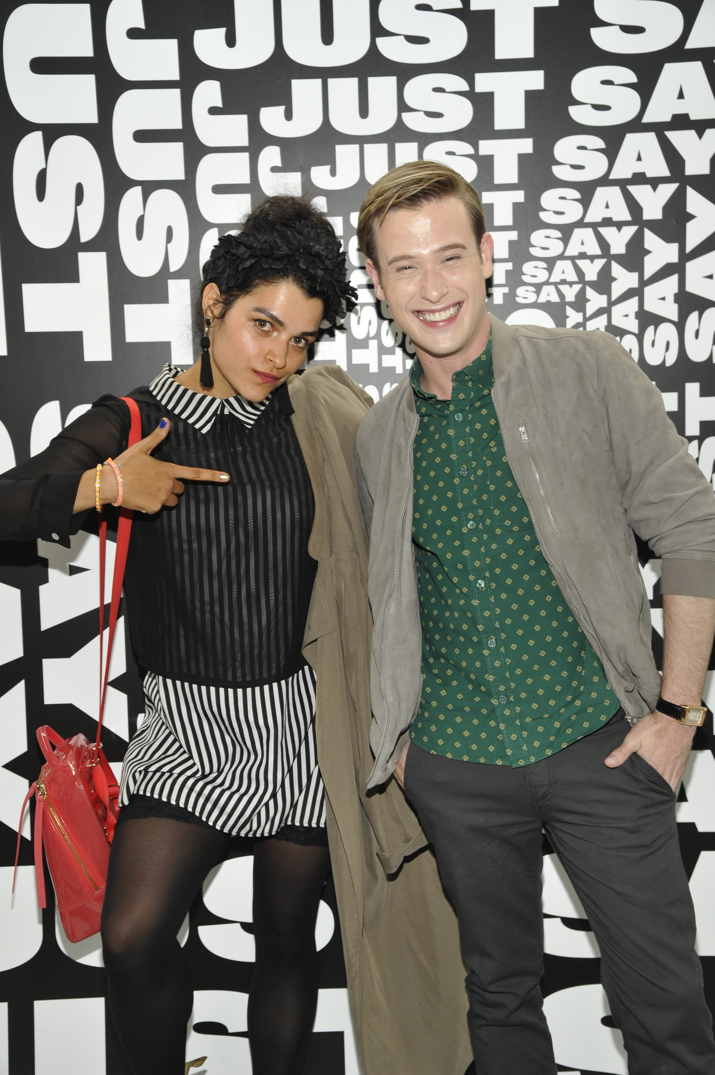 Eve Harlow and Tyler Henry