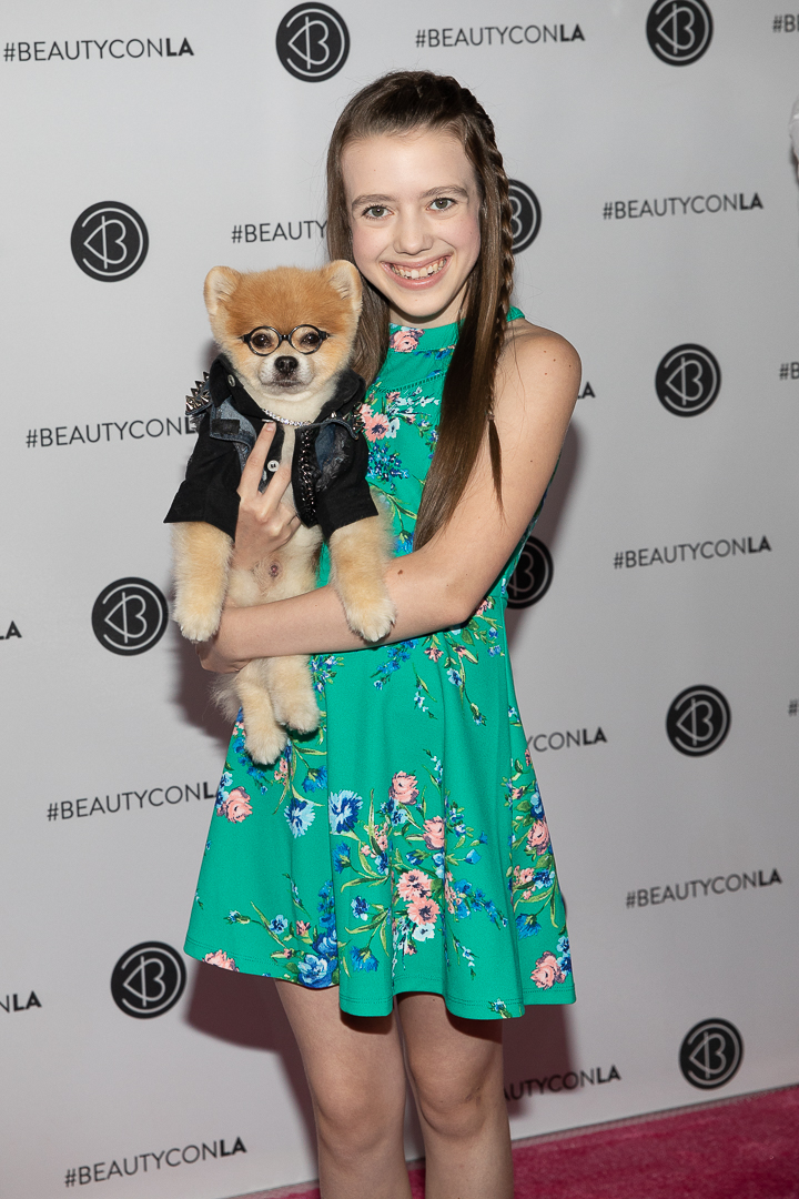 Symonne Harrison & Bentley the Pom