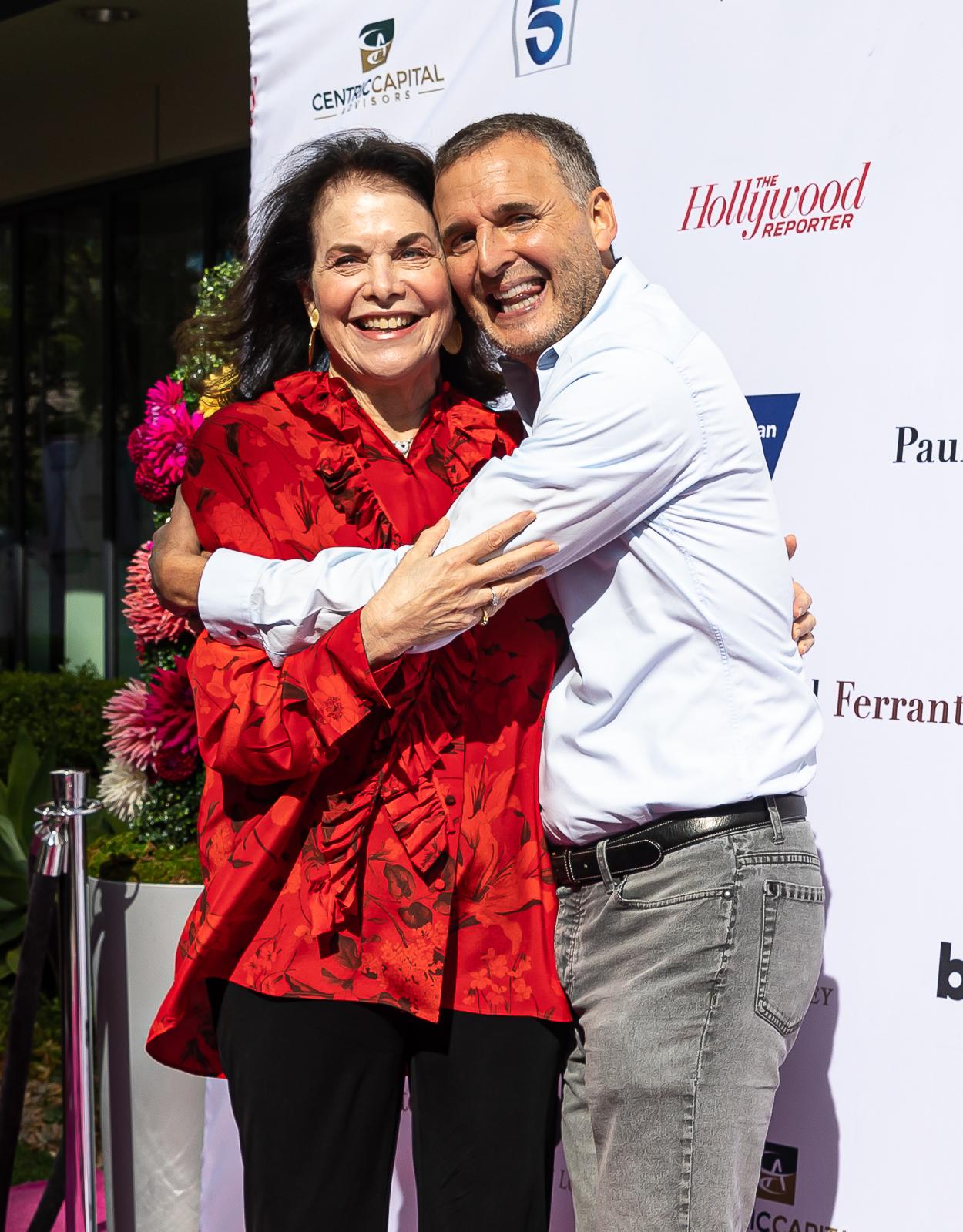 Sherry Lansing and Phil Rosenthal