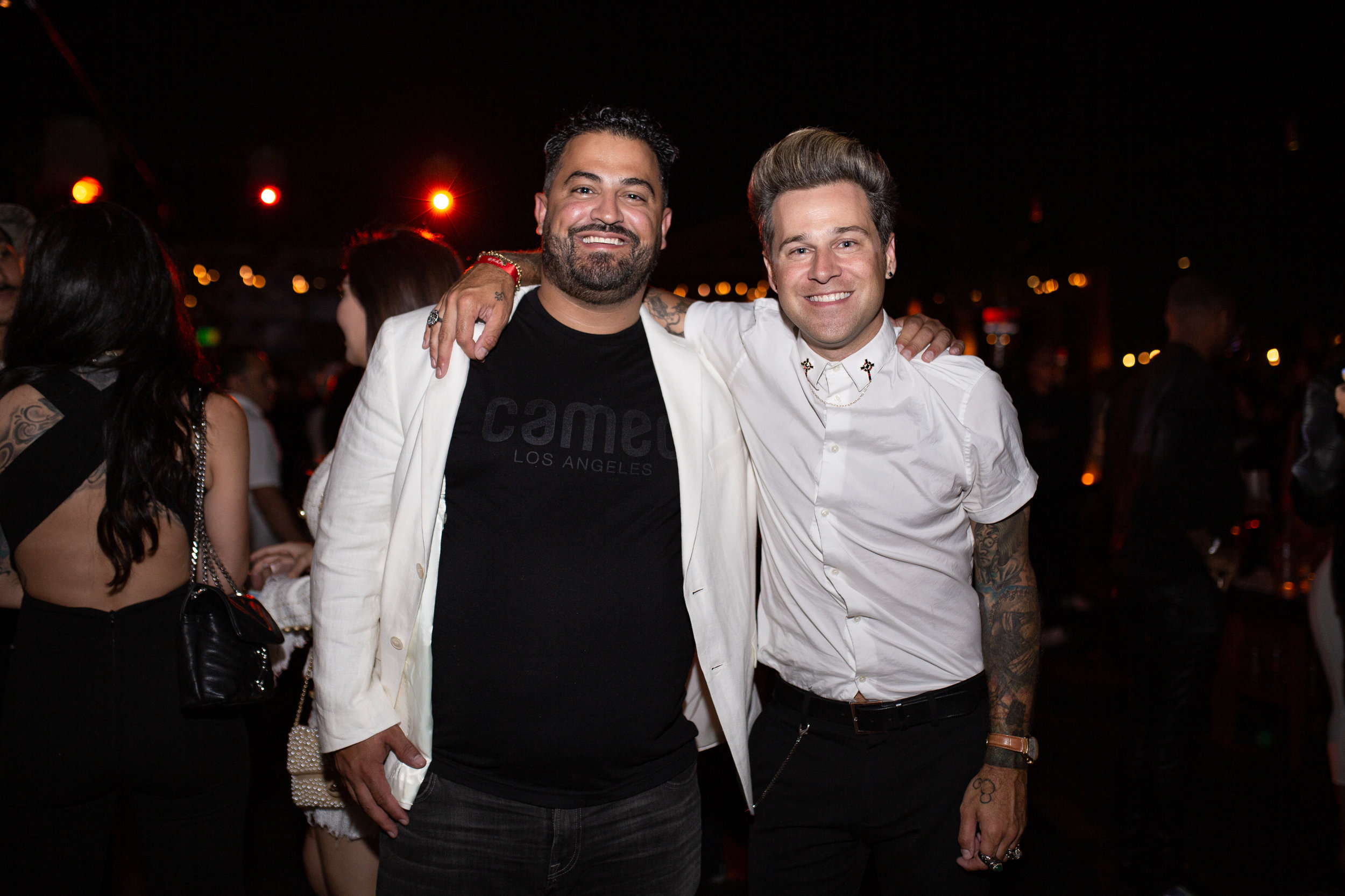 Ryan Cabrera and CAMEO CEO Steven Galanis