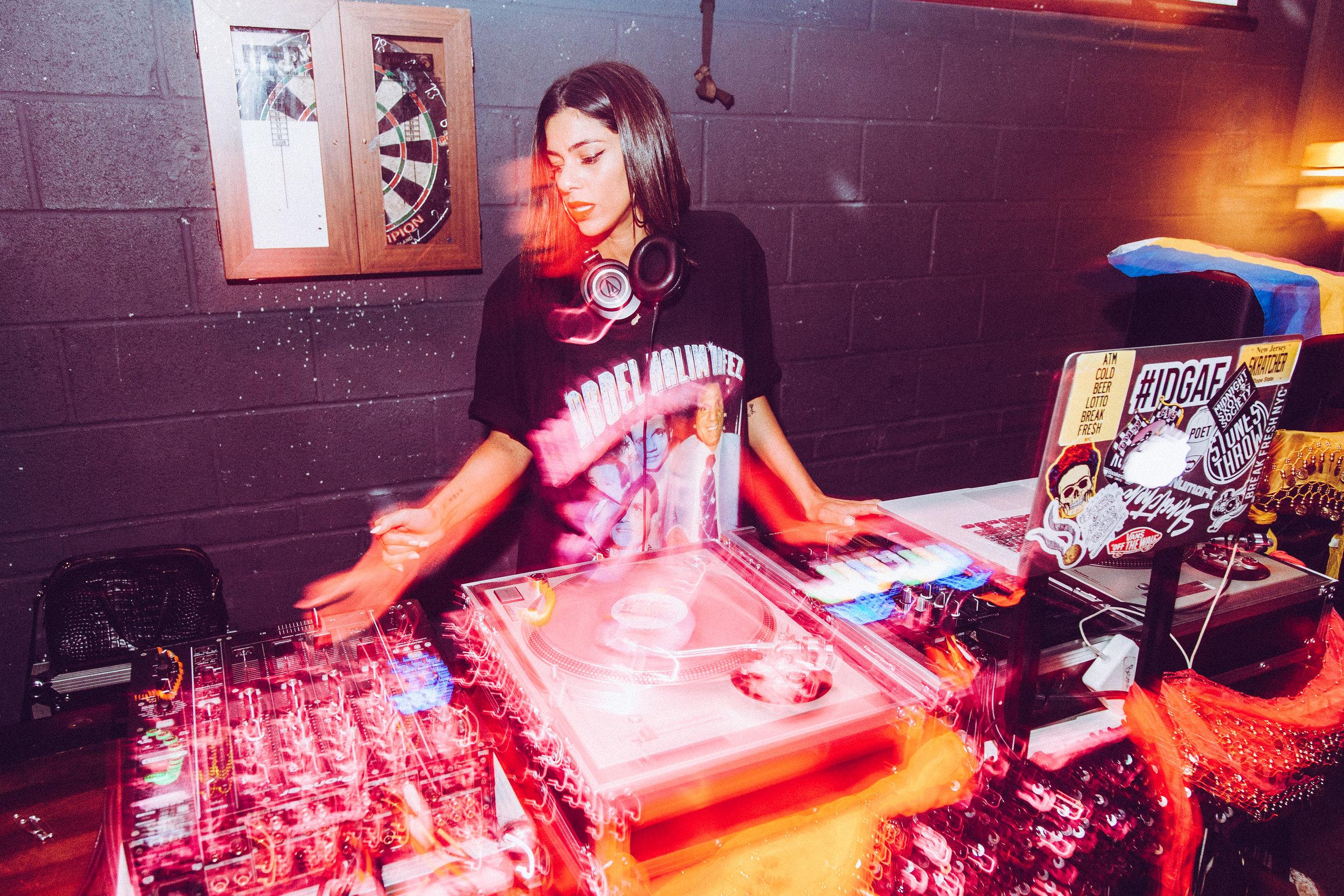 DJ Carmen Sandiego