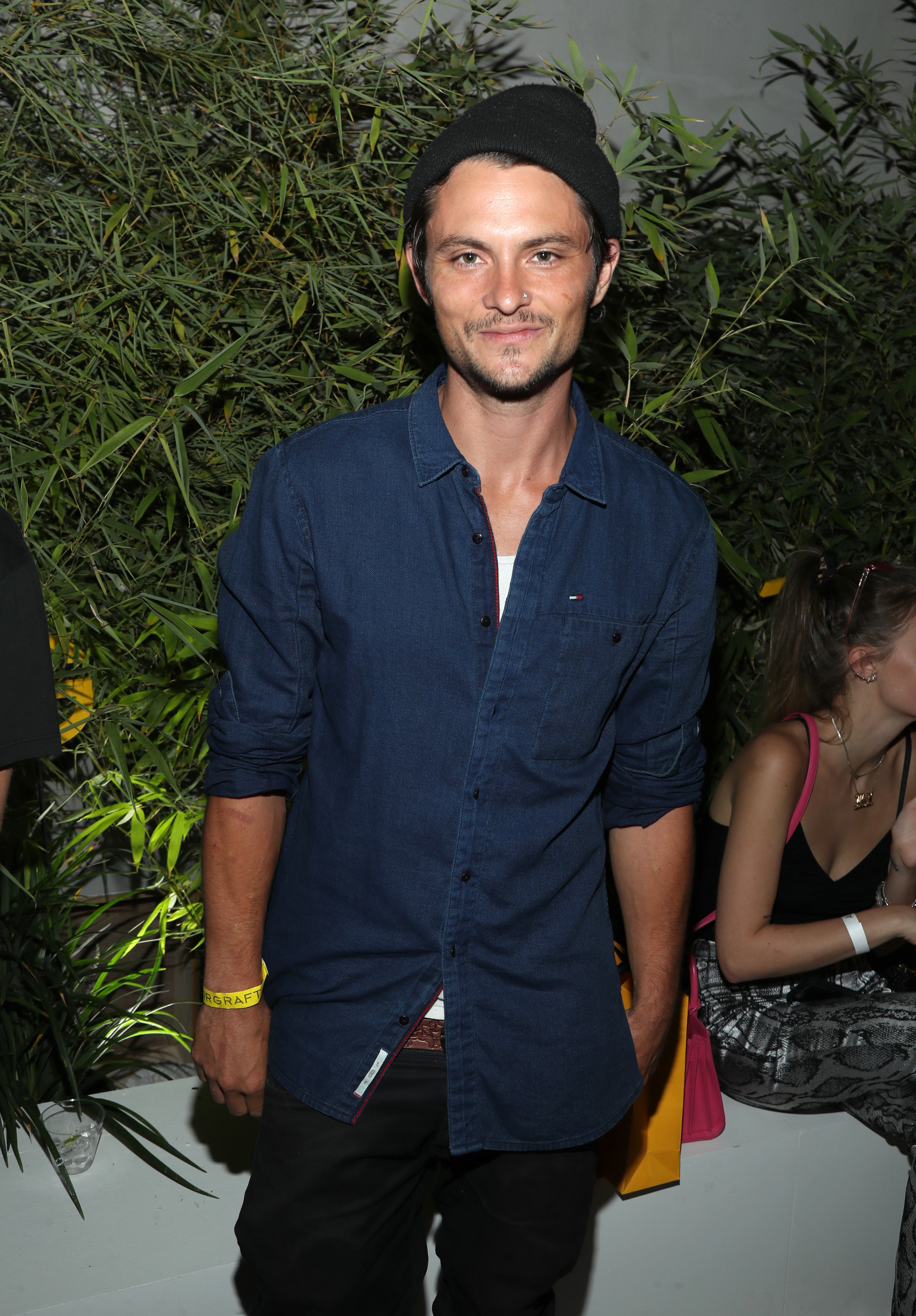 Shiloh Fernandez attends the AIRGRAFT 'The Art Of Clean Vapor'  launch with Talent Resources on September 6, 2019 in Los Angeles, California