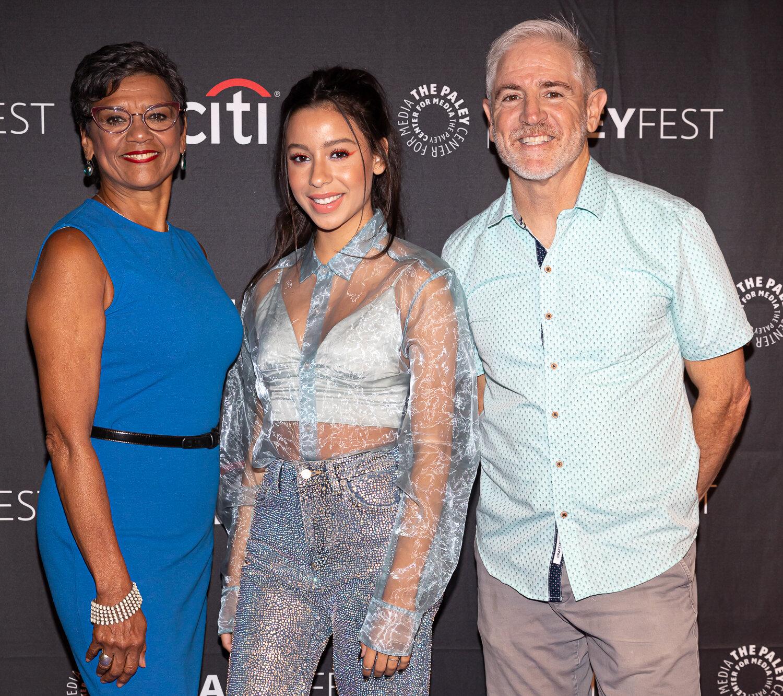 Sonia Manzano, Izabella Alvarez, Carlos Alazraqui from The Casagrandes