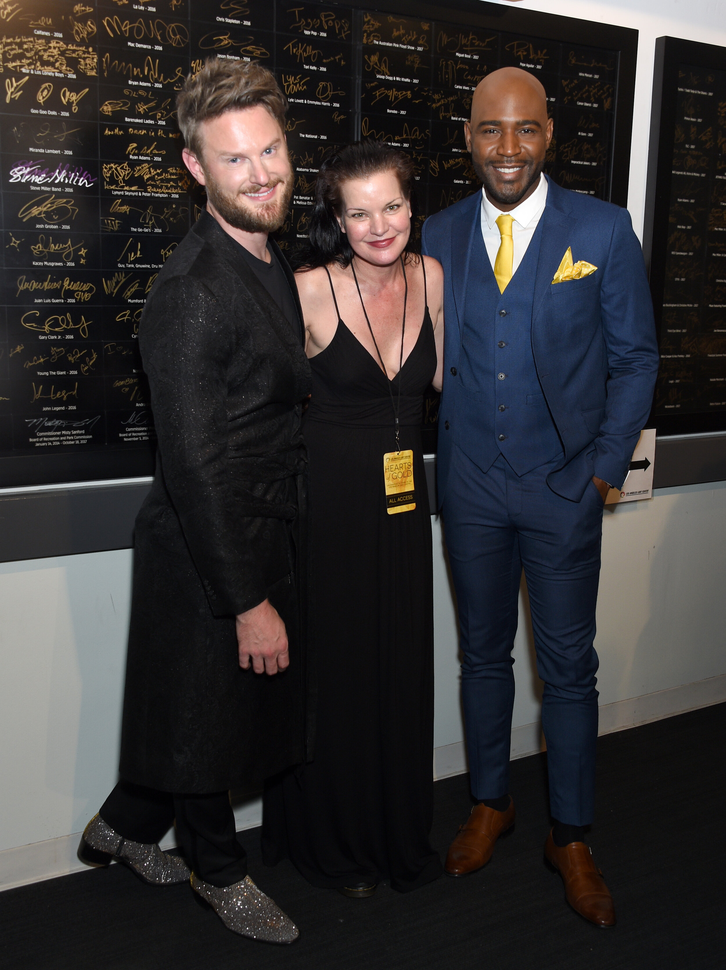 Bobby Berk, Pauley Perrette and Karamo Brown (Photo by Gregg DeGuire_Getty Images).jpg