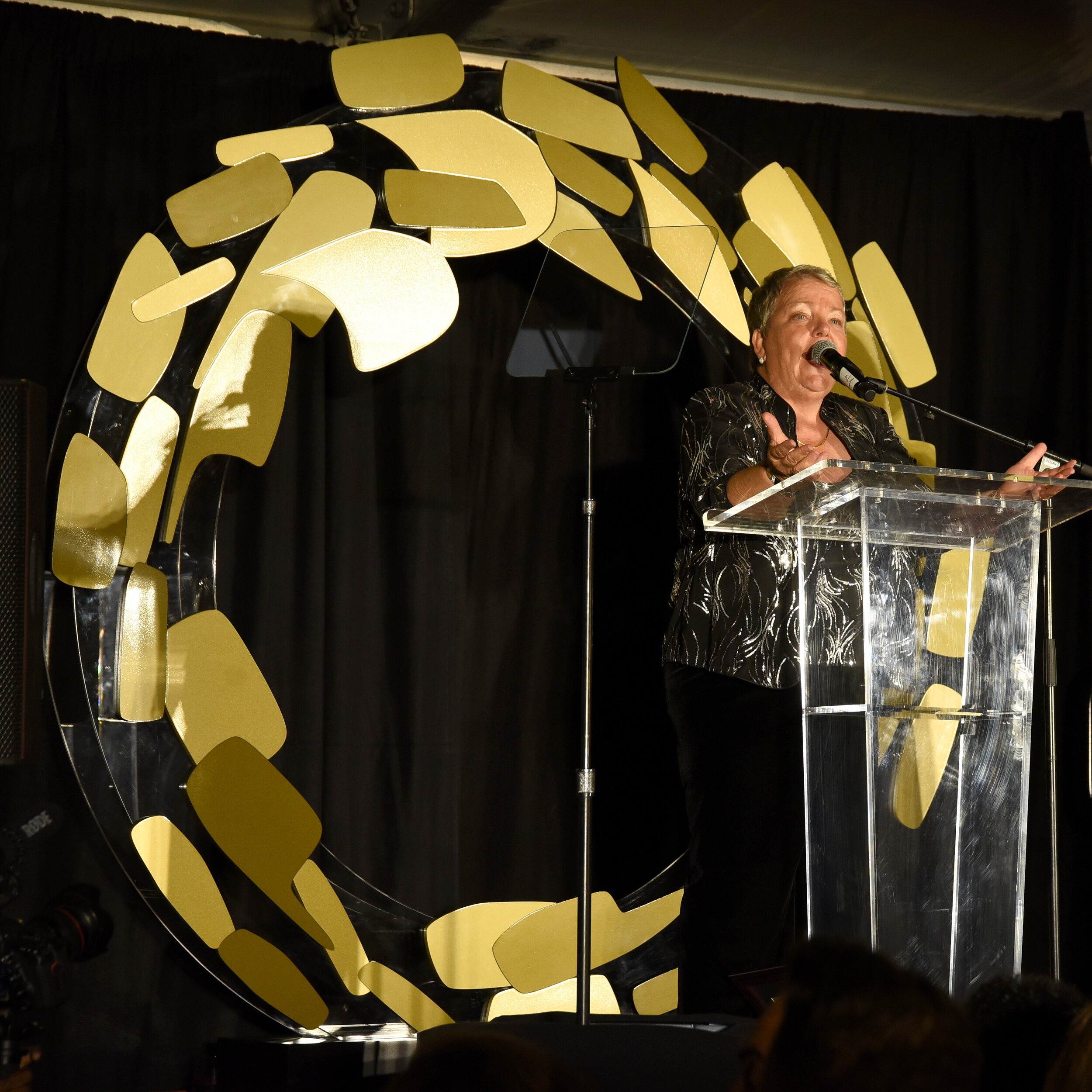 CEO of the Los Angeles LGBT Center Lorri Jean speaks onstage (Photo by Presley Ann_Getty Images).jpg