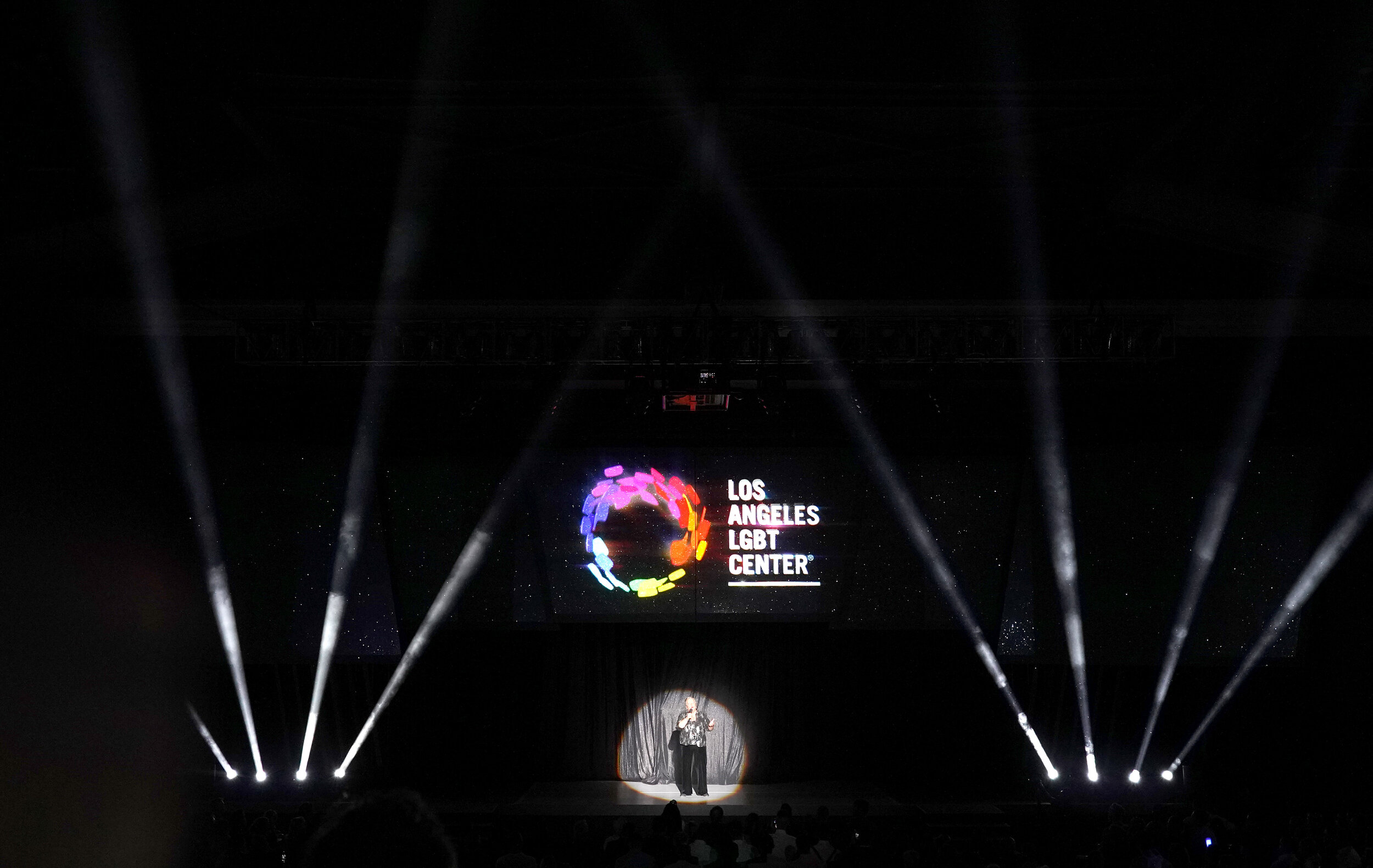 CEO of the Los Angeles LGBT Center Lorri Jean speaks onstage at Los Angeles LGBT Center Celebrates 50th Anniversary With Hearts Of Gold Concert & Multimedia Extravaganza (Photo by Presley Ann_Getty Images).jpg