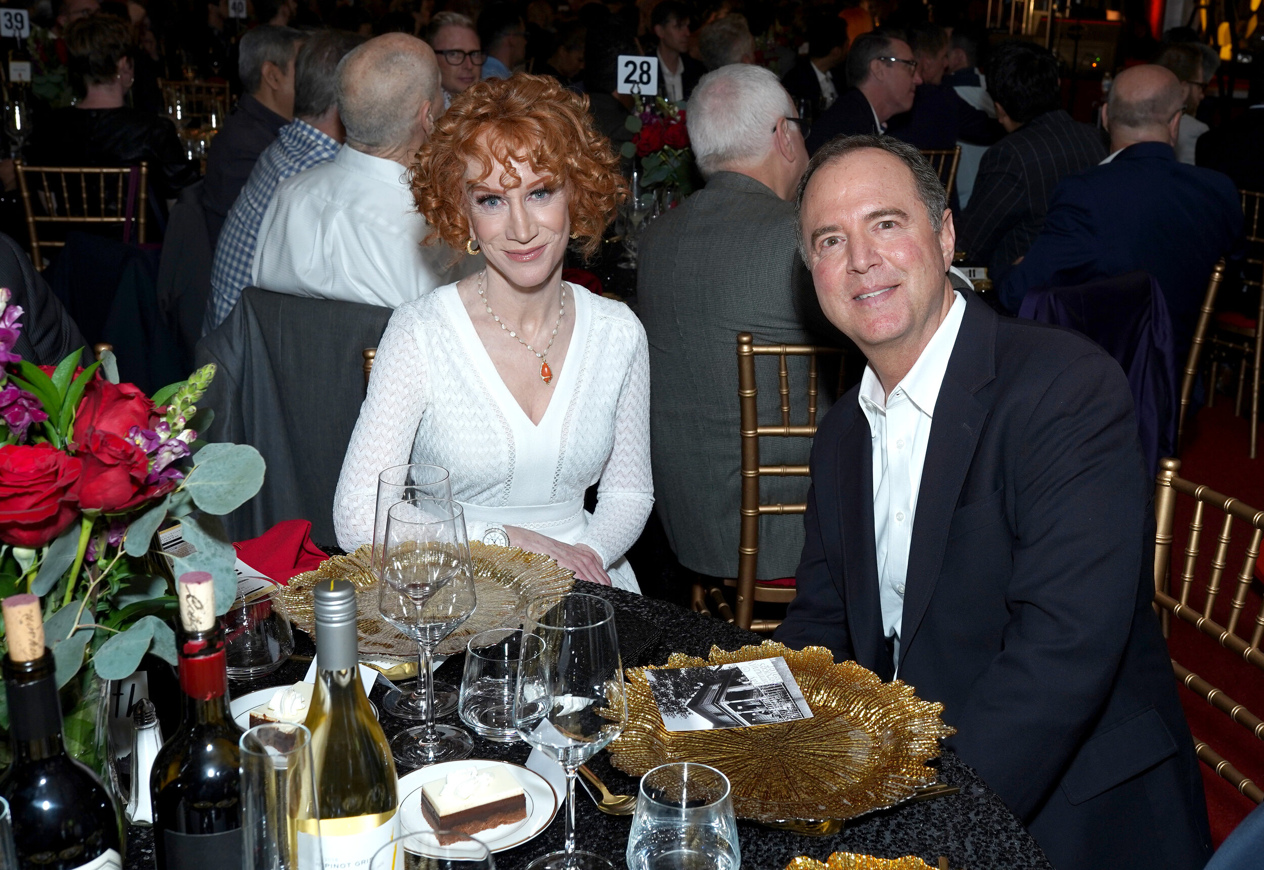 Kathy Griffin and U.S Representative Adam Schiff attend Los Angeles LGBT Center Gold Anniversary Vanguard Celebration (Photo by Presley Ann_Getty Images).jpg