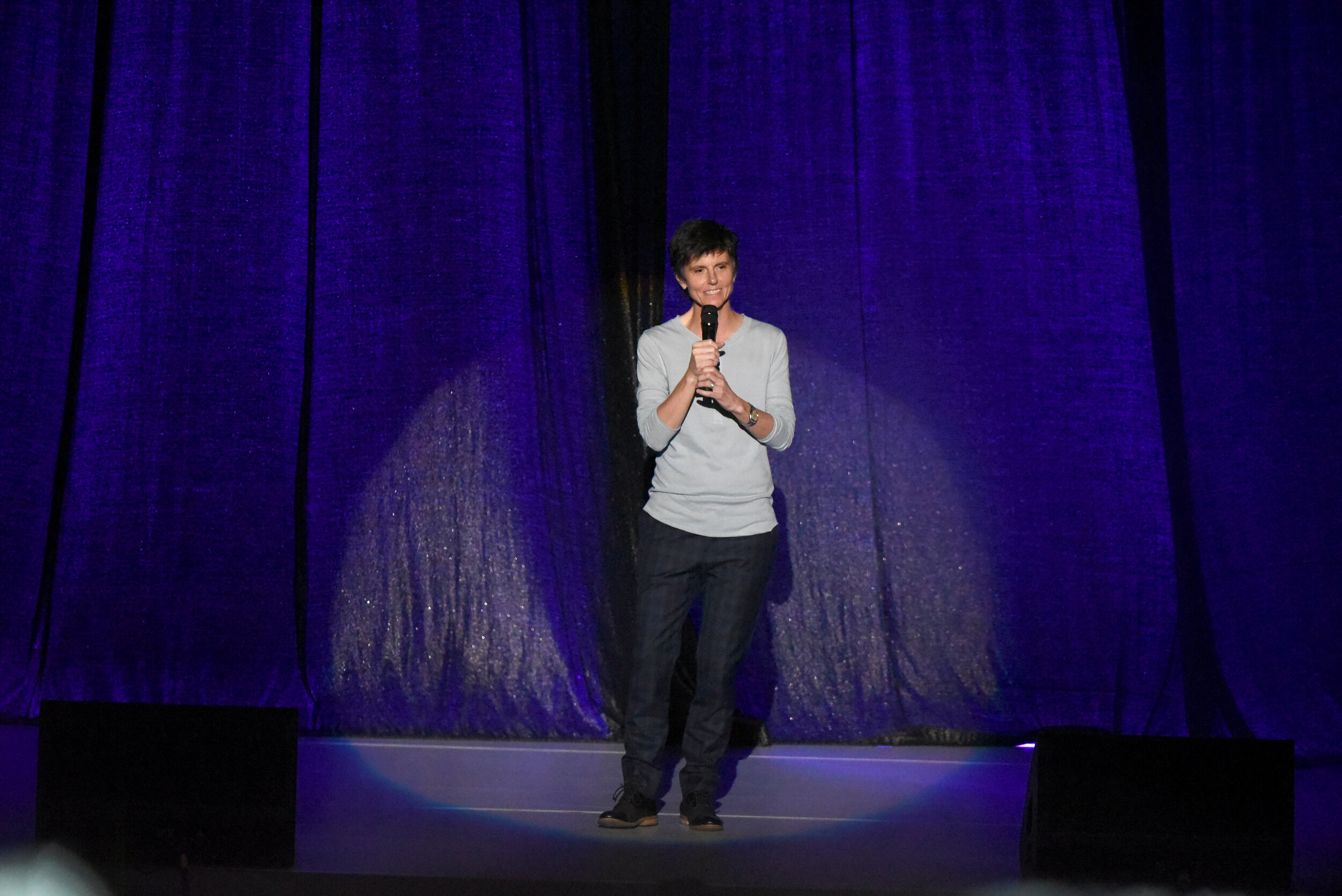 Tig Notaro performs onstage at the Los Angeles LGBT Center Celebrates 50th Anniversary With Hearts Of Gold Concert & Multimedia Extravaganza  (Photo by Presley Ann_Getty Images).jpg