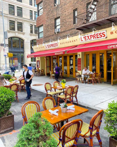 Nyc Restaurant Reopenings With Outdoor