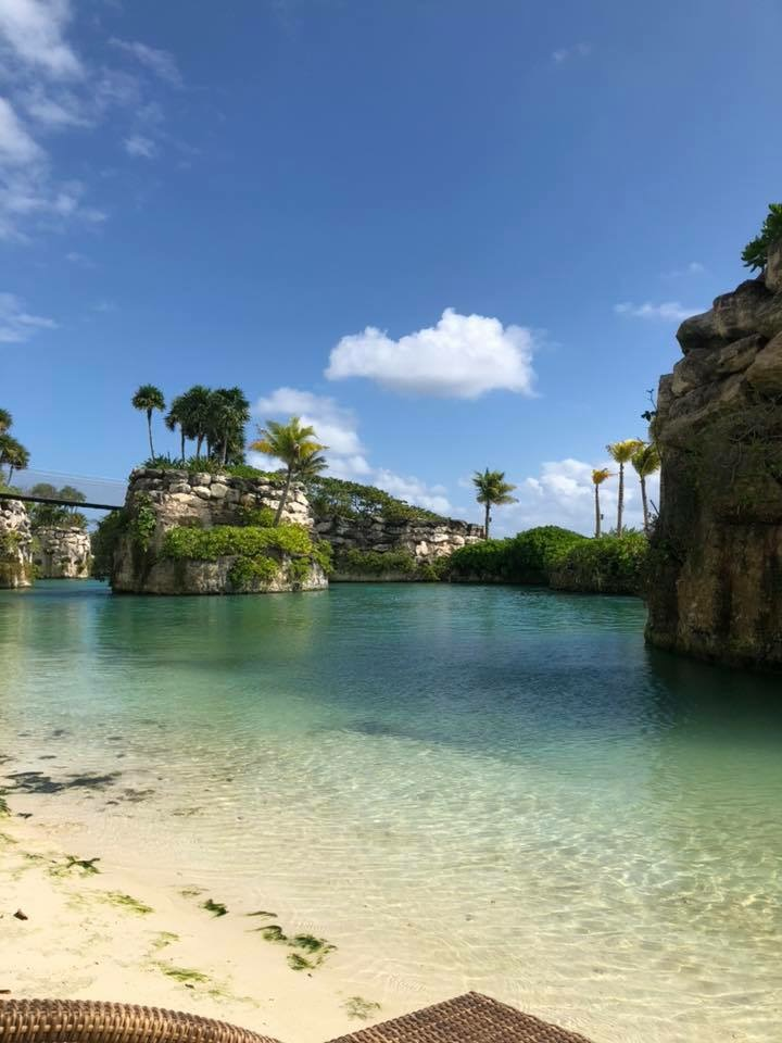 Hotel Xcaret features a beautiful lagoon and natural river for swimming, kayaking, and paddle-boarding.