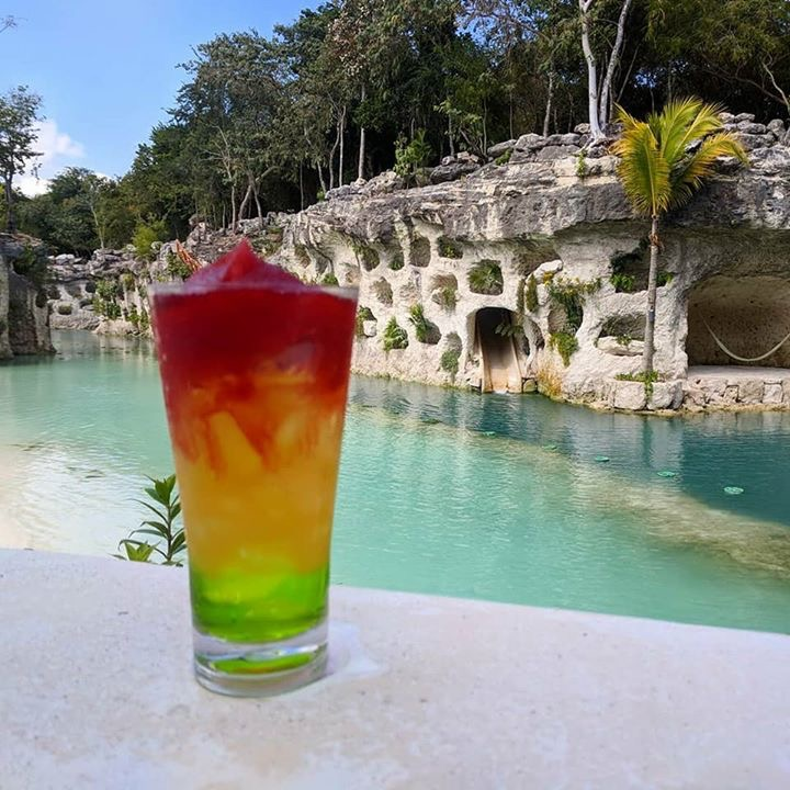 The Riviera Maya- absolutely delicious.  Hotel Xcaret includes top-shelf drinks as a standard perk for all of their guests.