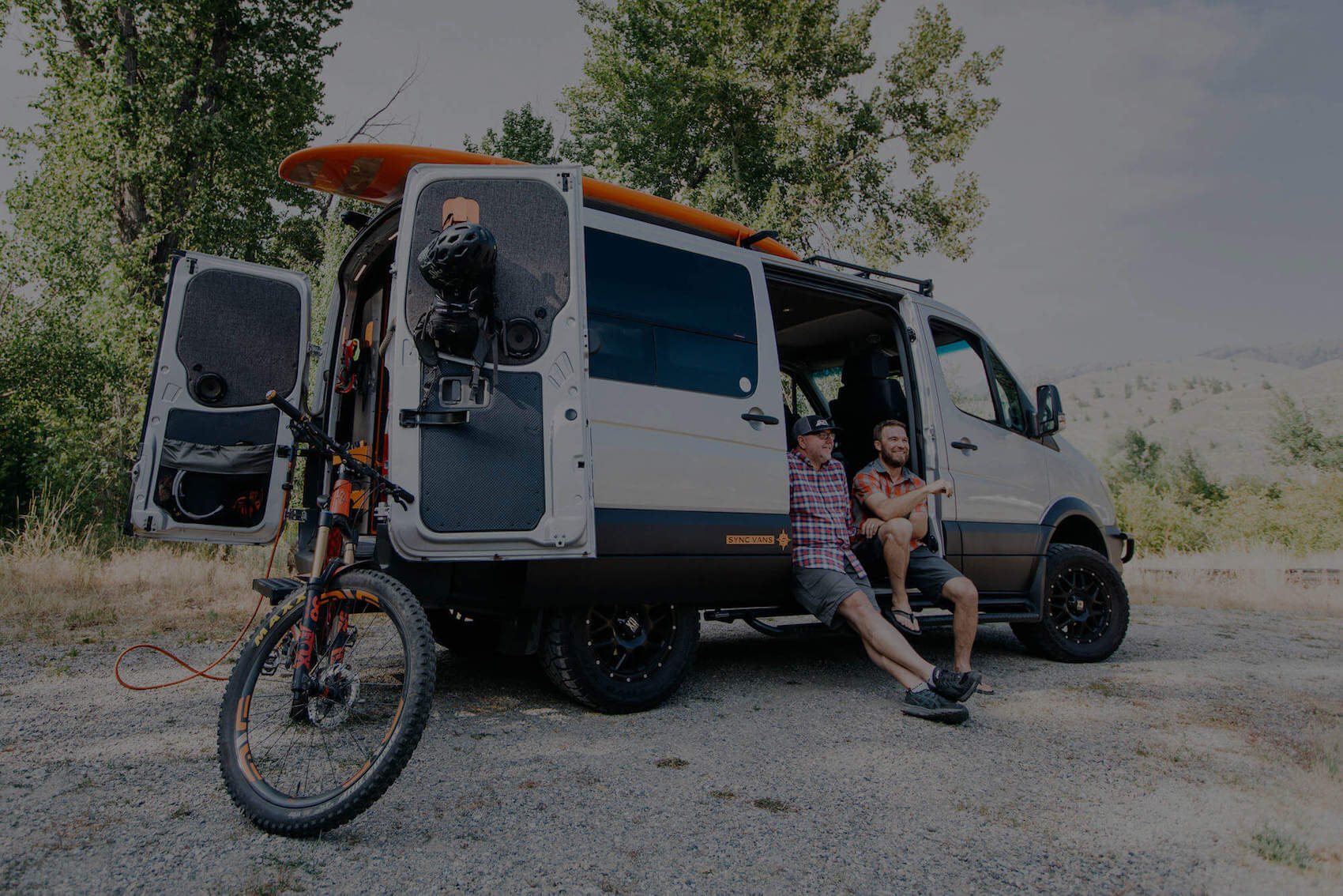 The Founders - Learn more about the guys behind SYNC Vans.