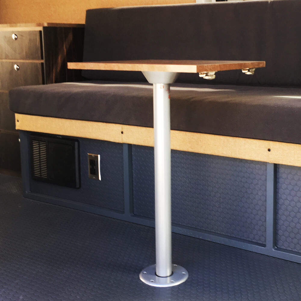 Single Post Removable Table