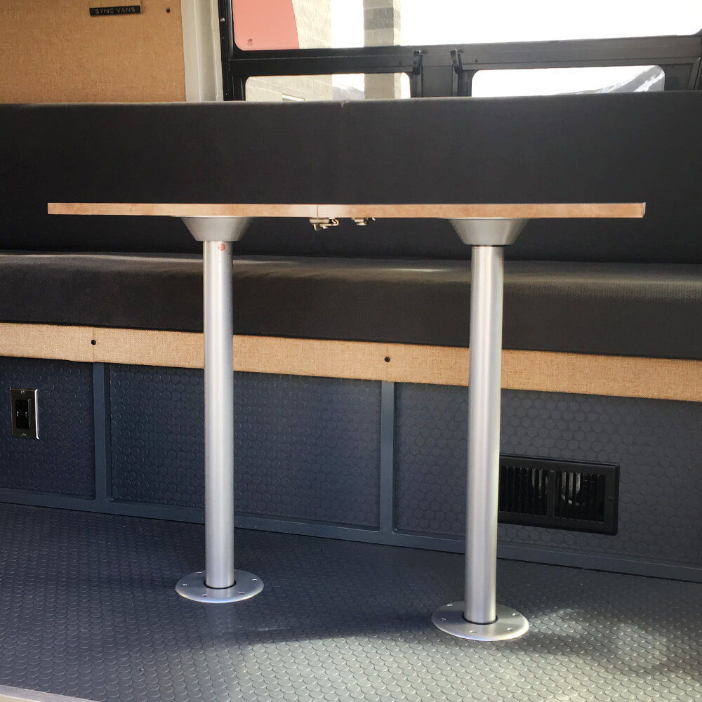 Double Post Removable Table