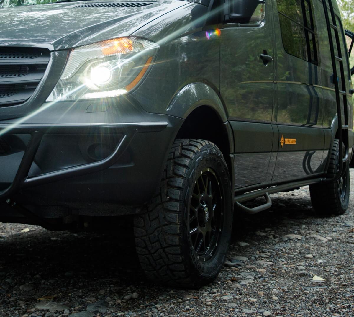 SYNC Vans — Custom Conversion Vans