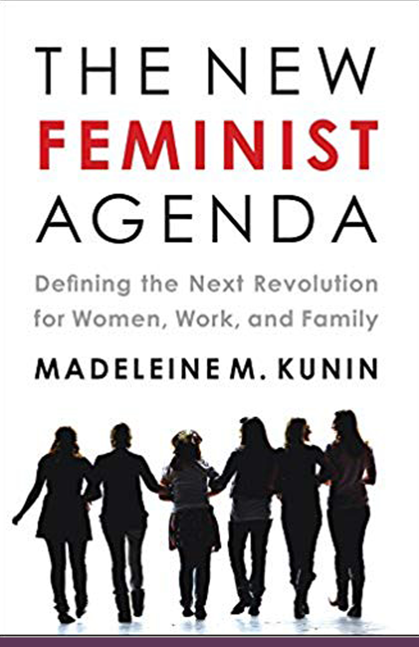 "The New Feminist Agenda - Defining the Next Revolution for Women, Work and Family""Kunin cogently examines myriad instances where feminist goals and family needs intersect. A former governor and U.S. ambassador, this working mother of four knows whereof she speaks."" —Booklist"