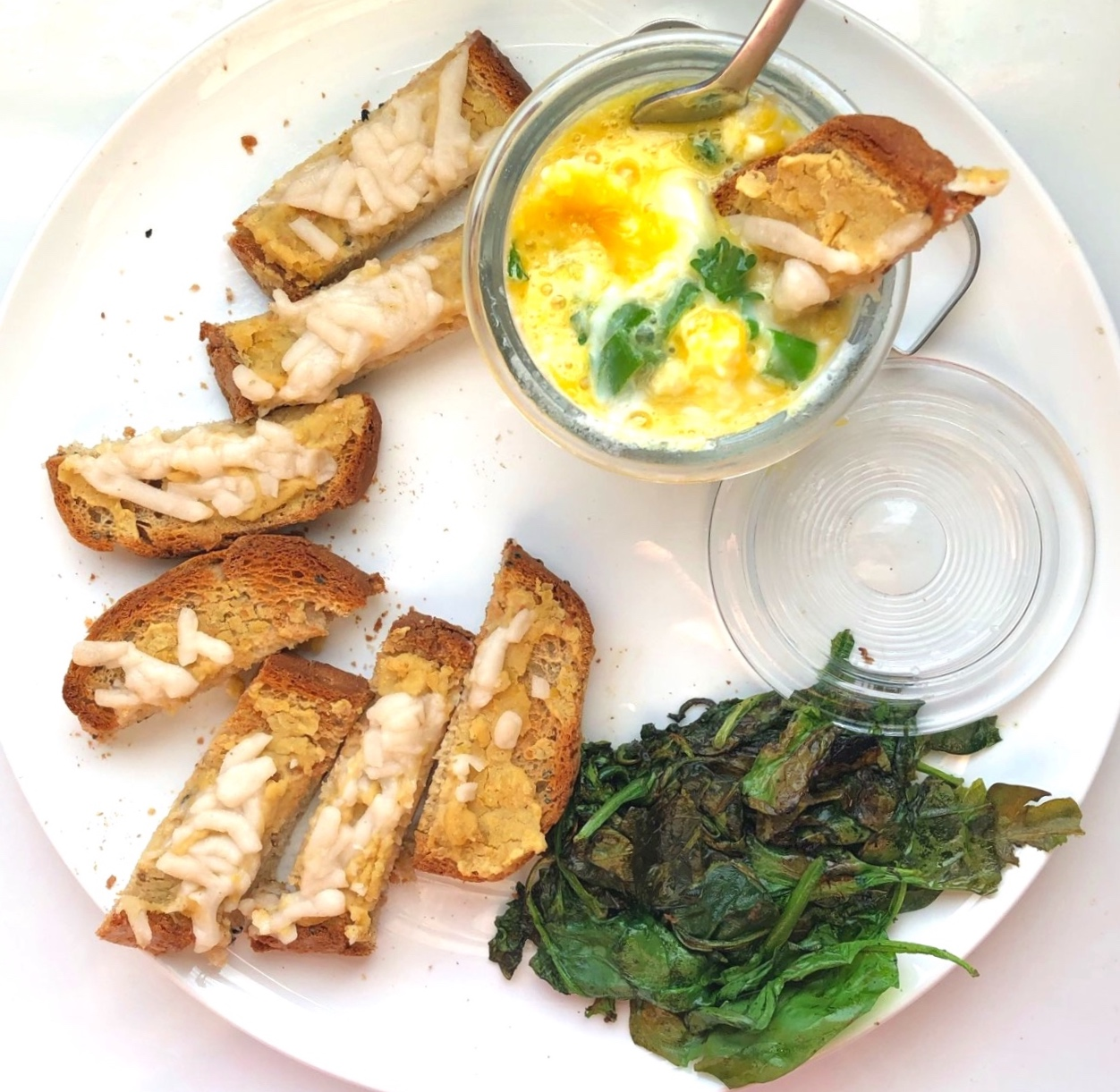 CODDLED EGGS & SOLDIERS - GLUTEN-FREE OPTION