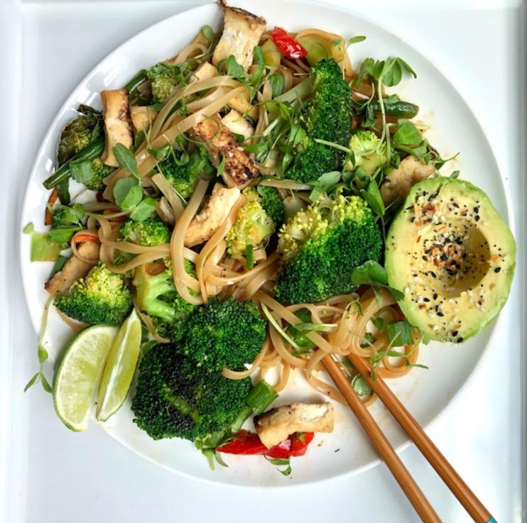 Vegan Pad Thai - Vegan, Gluten-Free (Option), Quick Dinner