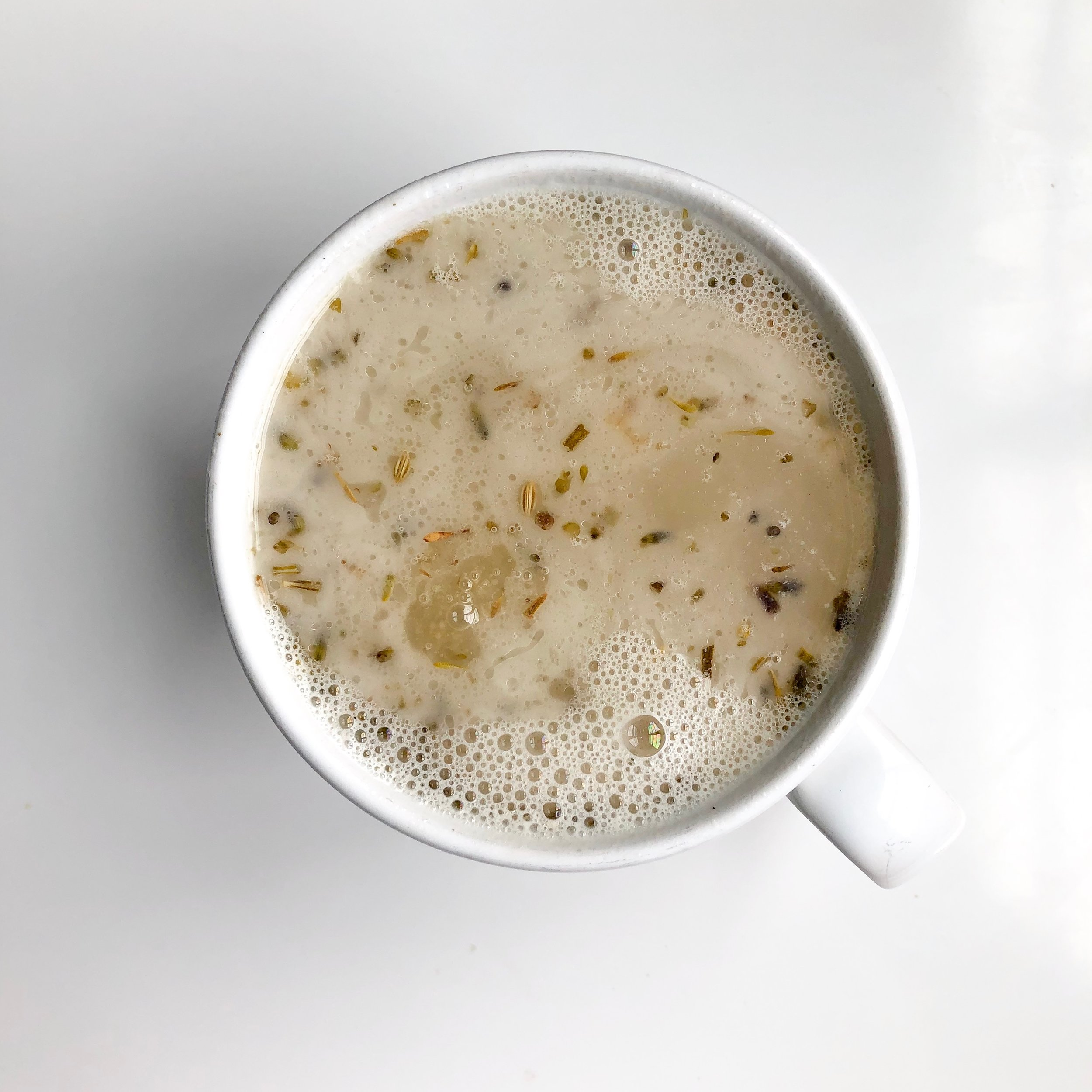 Rosemary -RedPepper - 1 c of chicken bone broth1/2 c of water1 tbsp of dairy-free butter 1 tbsp of lemon juice3/4 tsp of rosemary1/4 tsp of onion powderBlack Himalayan sea salt, cracked pepper, and red pepper flakes to taste