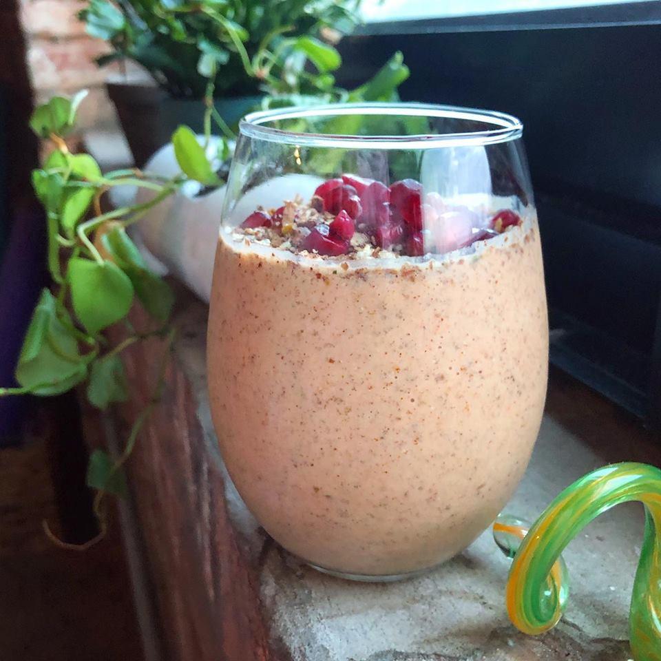Chai Date Smoothie - Vegan, Collagen, Gut Health Gluten-Free, Easy Recipe