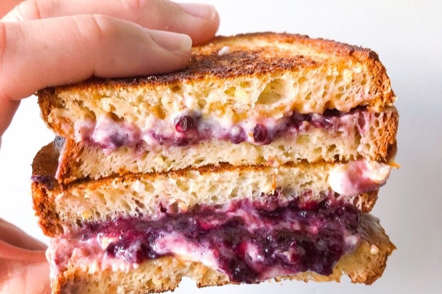 Grilled PB&J (Gluten-Free, Vegan)	 - FURTHER FOOD