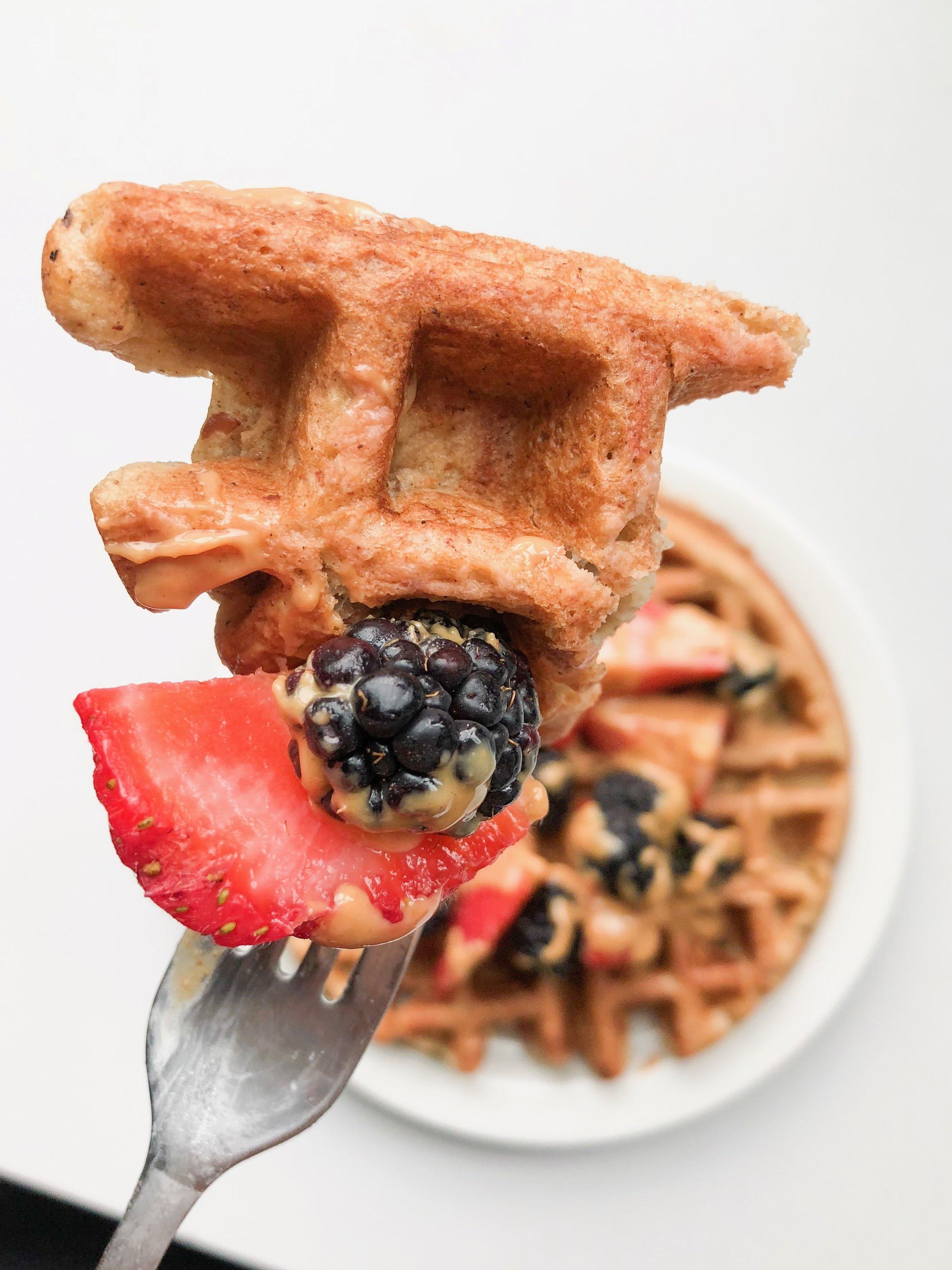 Gluten-Free Waffles - GLUTEN-FREE, DAIRY-FREE