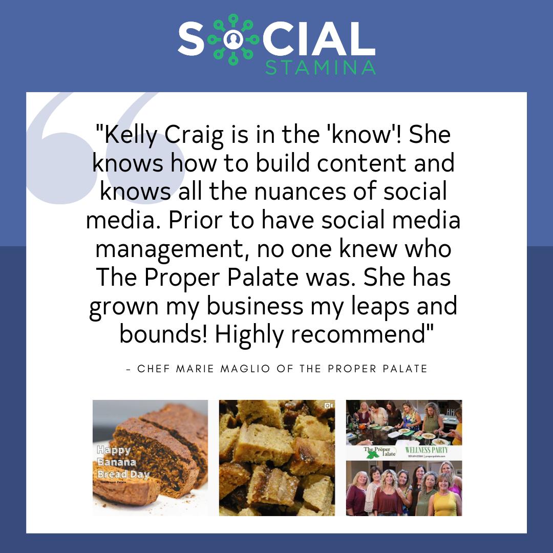 Kelly Craig Excellent Social Media Expert