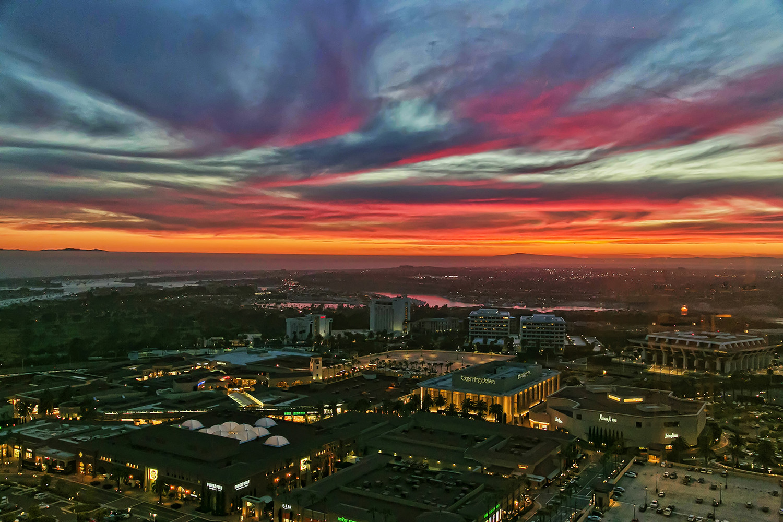 Sunset, Newport Beach, CA - Client: NAIOP SoCal