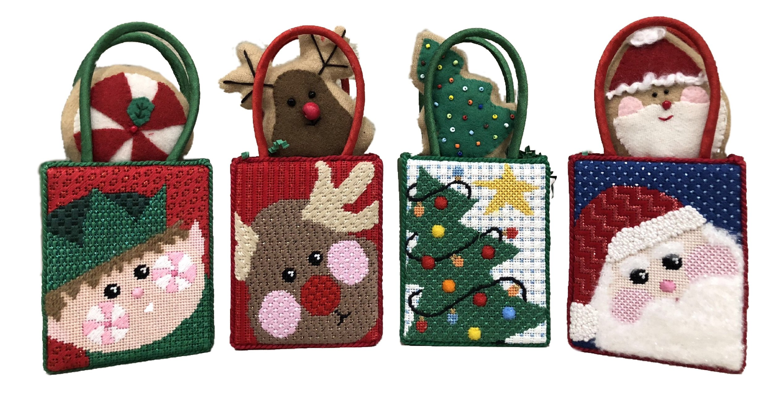 Four Christmas Mini Bags.JPG