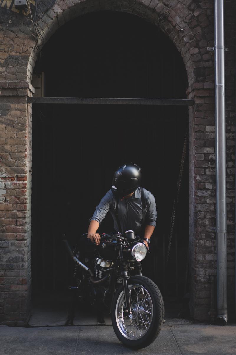 California Wedding Videographer - Motorcycle