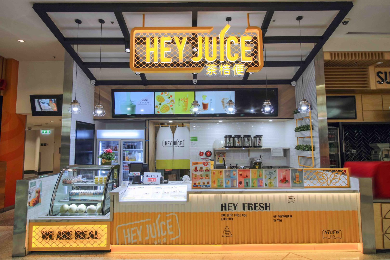 Hey Juice - Bubble Tea Franchise