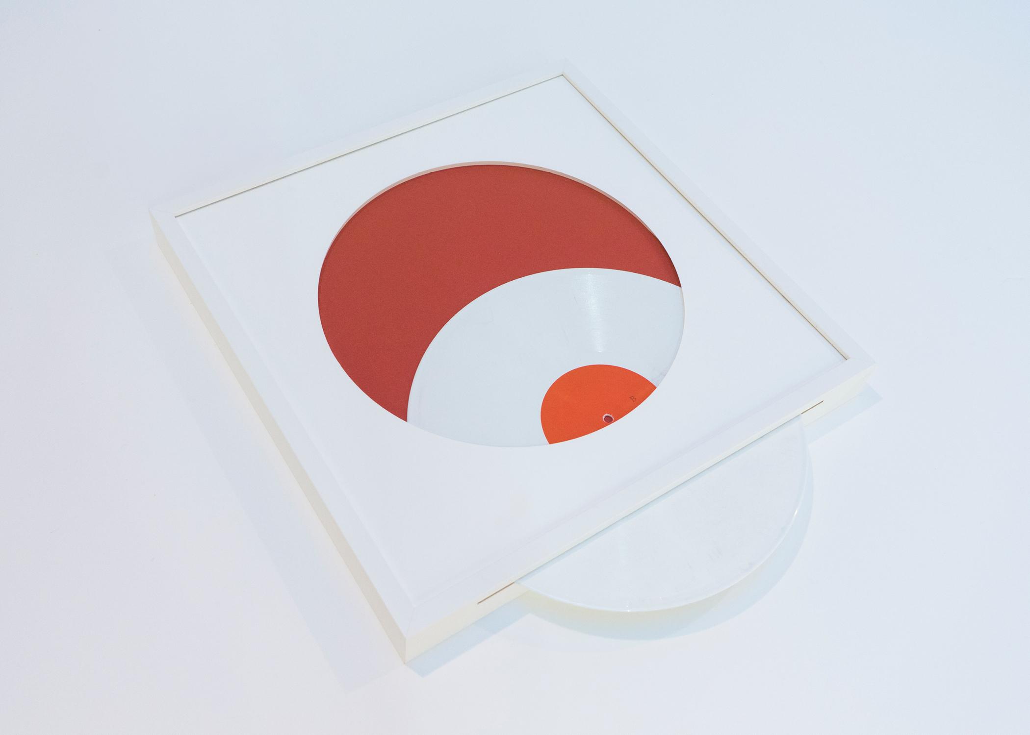 Framed Record, Detail.