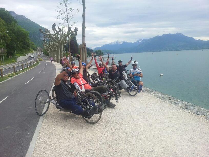 Nos cyclistes de Bet Halochem sur les routes de Genève