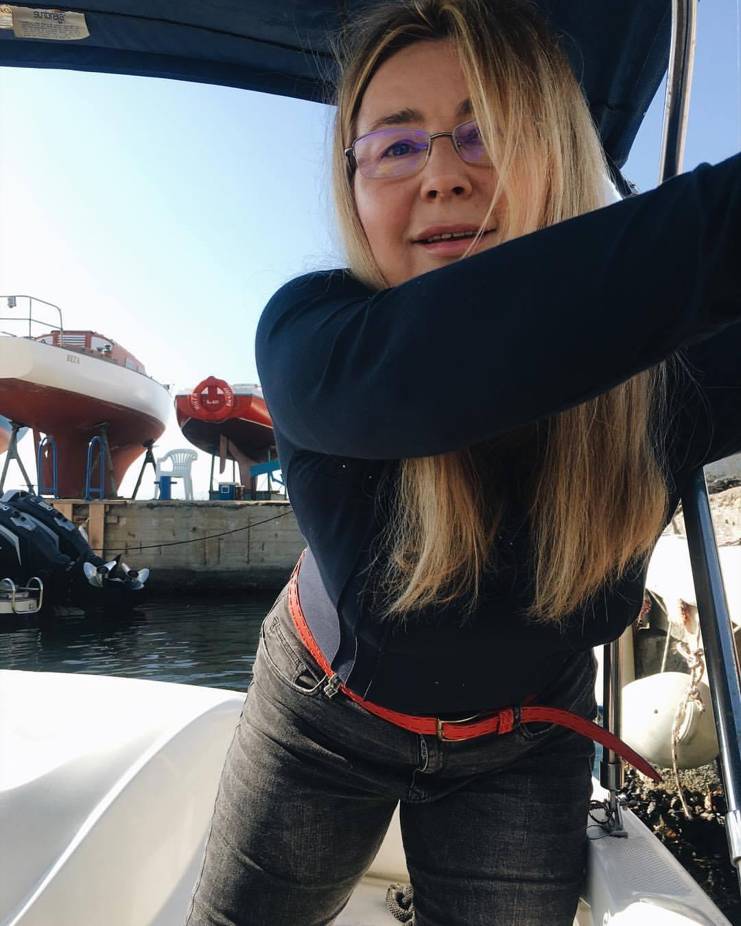 Мама - която разбира и от лодки