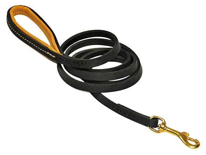 Honorable Mention: D and T Soft Touch Leather Leash - Best for: Leather Lovers