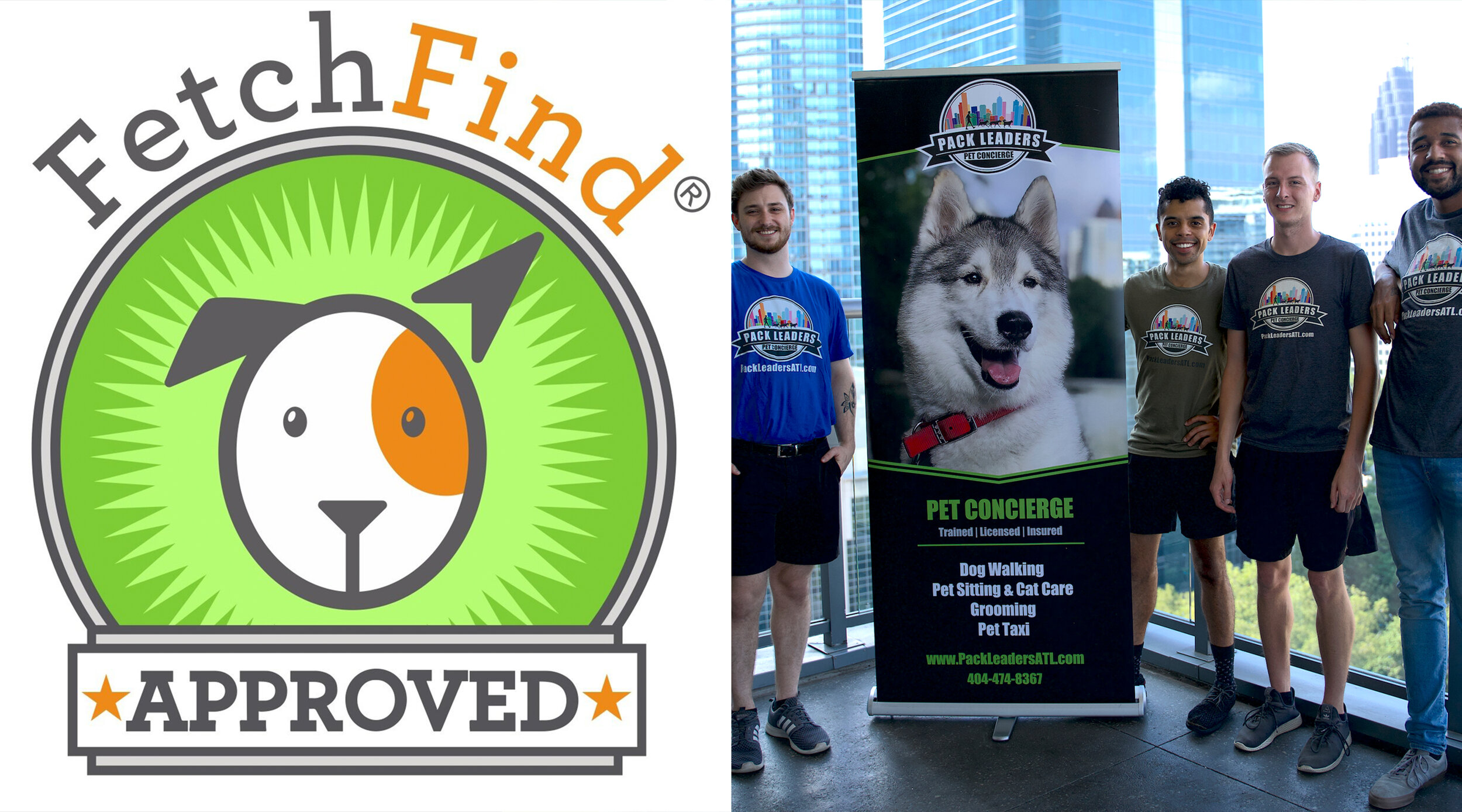 We Re Fetchfind Approved Pack Leaders Atl Dog Walking Cat Care And Pet Sitting Services